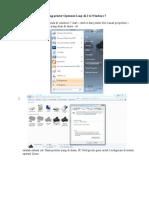 Share Printer Opensuse to Windows 7