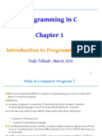 Chapter_1 Programing in c