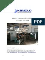 FD-200 Radiant Freeze Dryer Quotation