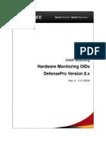 DefensePro OIDs V8