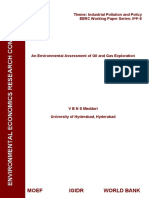 IPP_FR_Madduri Environmental Assessment of Oil and Gas Exploration