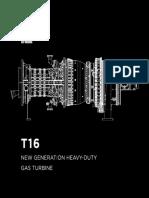 Heavy-duty Gas Turbine T16