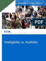 Intelligibility EnergyEfficiency Design Eaton 2