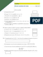 Ecuaciones de Rectas