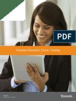 Teradata 2017 Training Catalogue