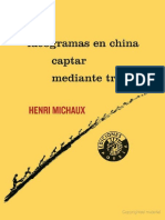 Michaux Ideogramas en China Captar Mediante Trazos