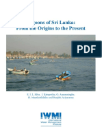 Lagoons of Sri Lanka From the Origins to the Present