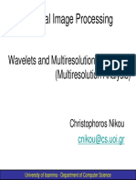 Chapter 07b Wavelets and Multiresolution (Multiresolution Analysis) 1spp