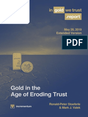 In Gold We Trust Report 2019 English Extended Version