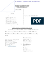 117 - Notice of Appeal to the Seventh Circuit