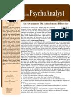 The HLS PsychoAnalyst - Jan-Mar '19