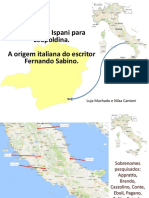 Savino de Ispani para Leopoldina - A origem italiana de Fernando Sabino