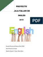 Proyecto Aula Taller 2019
