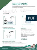 Manual de Uso GV ZYME WEB