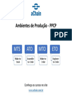 PPCP, MRP e Otimização de Estoques – 3 cursos em 1! Conheça também CPIM (produção), CSCP (supply chain), CLTD (logística). www.achain.com.br