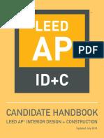 IDC Candidate Handbook 2018