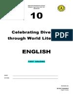 Modular Acitivities English 10