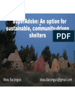 SuperAdobe Shelters