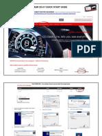 AEM CD Carbon Digital Dash Quick Start Guide