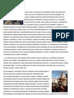 Creencias Religiosas en El Peru