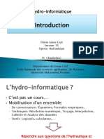 Hydro Informatique I
