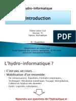 Hydro Informatique I