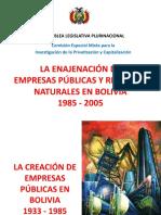 Enajenación 1985-2005