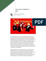 A Diferença Entre Socialismo e Comunismo – Gabriel Antunes – Medium[1]
