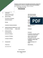 SEMINAR Program Summer 2019