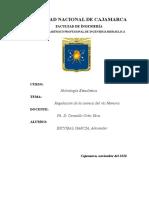 Regulacion de La Cuenca Del Rio Namora Final