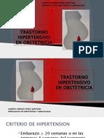 TRASTORNOS HIPERTENSIVOS EN EL EMBARAZO