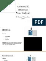 arduino sik electronics notes portfolio
