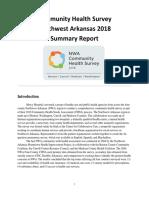 community health survey summary report nwa final