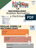 Diapositivas Ley de Nacionalidad