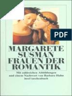 Margarete Susman Frauen Der Romantik