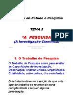Mep Tema 5 - a Pesquisa-2