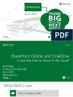 SharePoint Online and ODFB