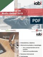 Estudio Audio Online IAB