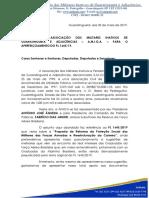 Amiga - Carta Ao Congresso nACIONAL - pl1645/2019 MILITARES