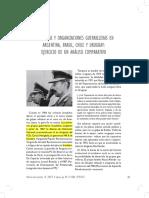 Dictaduras y organizaciones guerrilleras en Argentina, Brasil, Chile y Uruguay