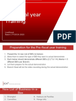 Pre-Fiscal Year Training Material (B1 FY2019-2020)