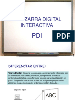 PDI Primera Sesión