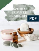 Natural Summer Care Kit