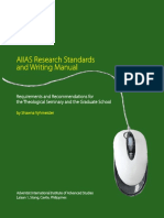AIIAS Research Manual