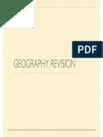 Summer Geography Presentation Core
