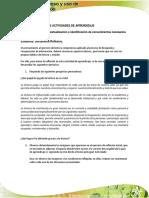 Evidencia Documento Reflexivo
