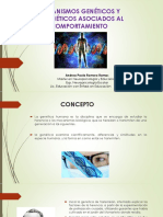 Mecanismos Genéticos y Epigenéticos Asociados Al Comportamiento