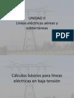Lineas Electricas Aéreas y Subterraneas