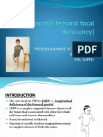 PFFD[Proximal Femoral Focal Deficiency]