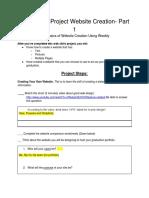 online safety   use -website creation-